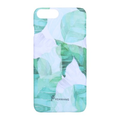 Phone Case iPhone 6/7/8 Plus Green Leaves